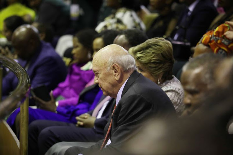 Statement by the FW de Klerk Foundation