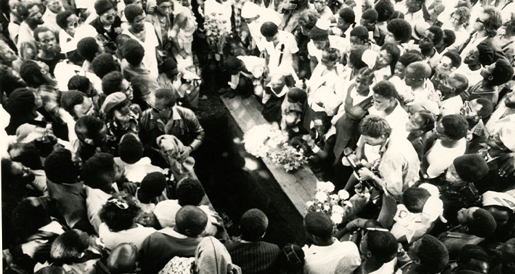Funeral Of Neil Aggett - COSATU ARCHIVES