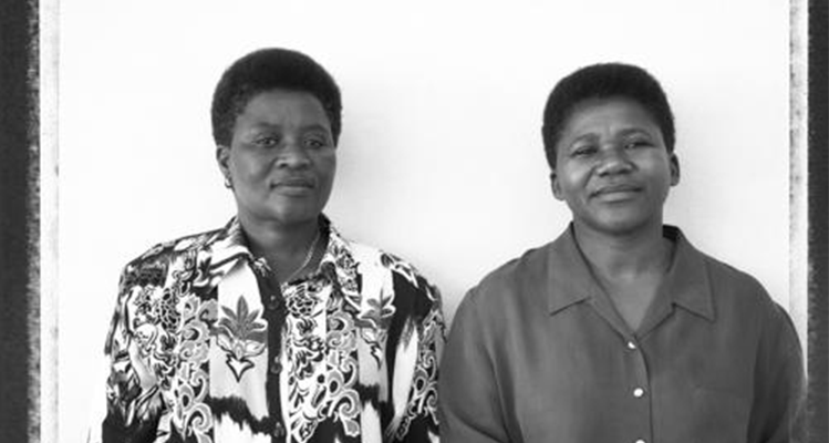 Nombuyiselo Mhauli and Nyami Goniwe 1997