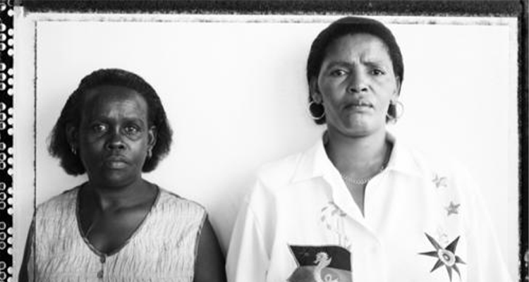 Sindiswa Mkonto and Nomonde Calata